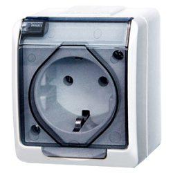 Electro-Plast Hermetic IP44 вологостійка електрофурнітура