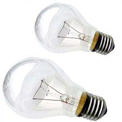 Лампи розжарювання Іскра (звичайні 25..500 Вт, Е27, Е40, 12..220В)