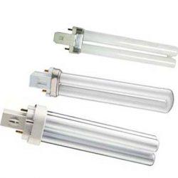 PL-S, PL-C G23,G24 Компактні люм.лампи під зовнішній блок живлення