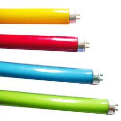 Кольорові люмін.лампи (розпродаж по знижених цінах)