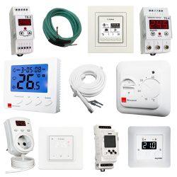 Терморегулятори (термостати) до всіх типів теплих підлог та систем електрообігріву