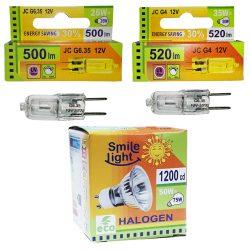 Галогенні лампи Smile light