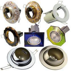 Рефлекторні точкові світильники (Е27, Е14)